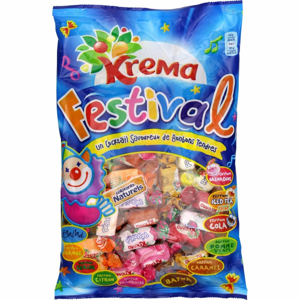 French Candies / Sweets Lutti - Festival Krema - My French Grocery