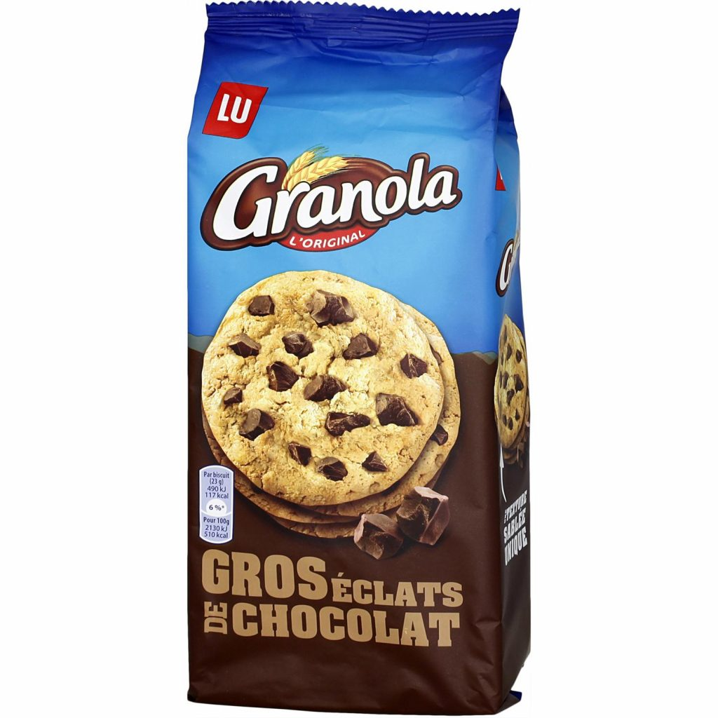 """French Biscuit """"Granola"""" by LU My French grocery"""