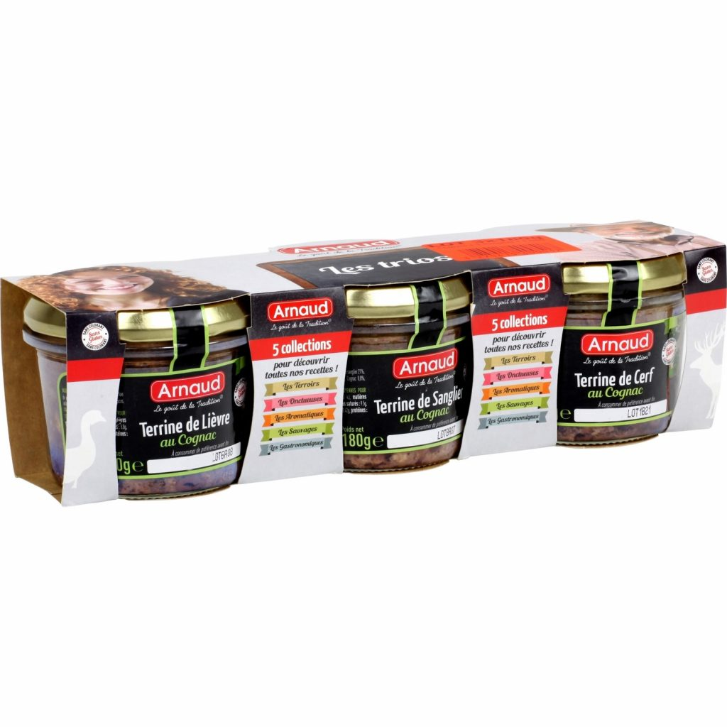 """French terrines """"Arnaud"""" - My french grocery"""