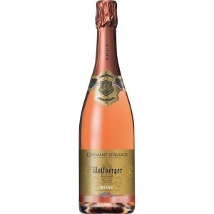 sparking wine Crémant d'alsace rosé - My french Grocery