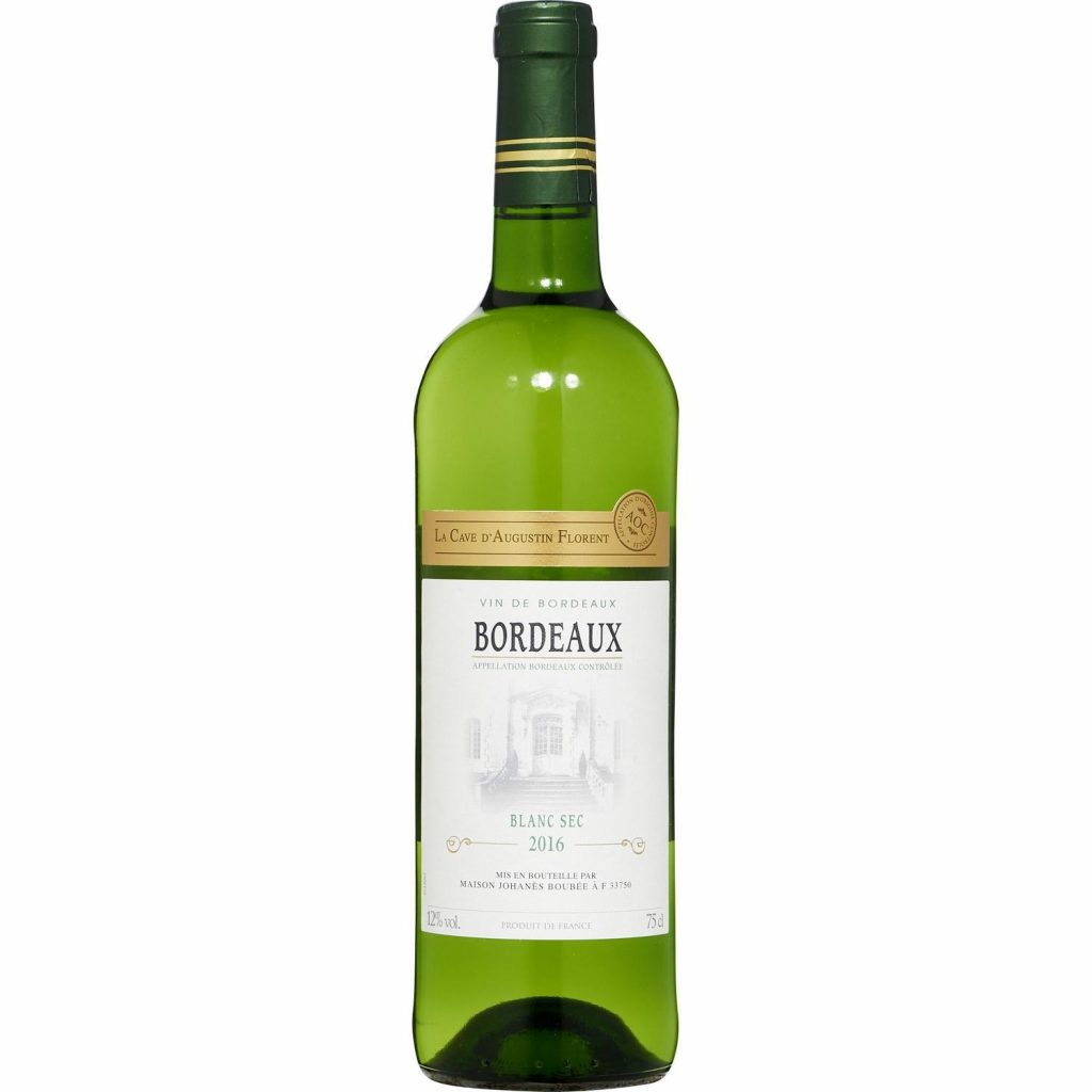 French white wine - My french Grocery - BORDEAUX SEC