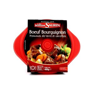 Cooked Burgundy beef stew William Saurin - My French Grocery