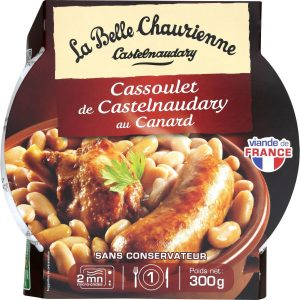 Cassoulet with duck La Belle Chaurienne - My French grocery