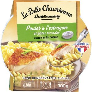 Chicken With Tarragon and pasta La Belle Chaurienne - My French Grocery