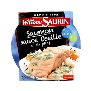 Salmon With Sorrel Sauce & Pasta William Saurin - My French Grocery