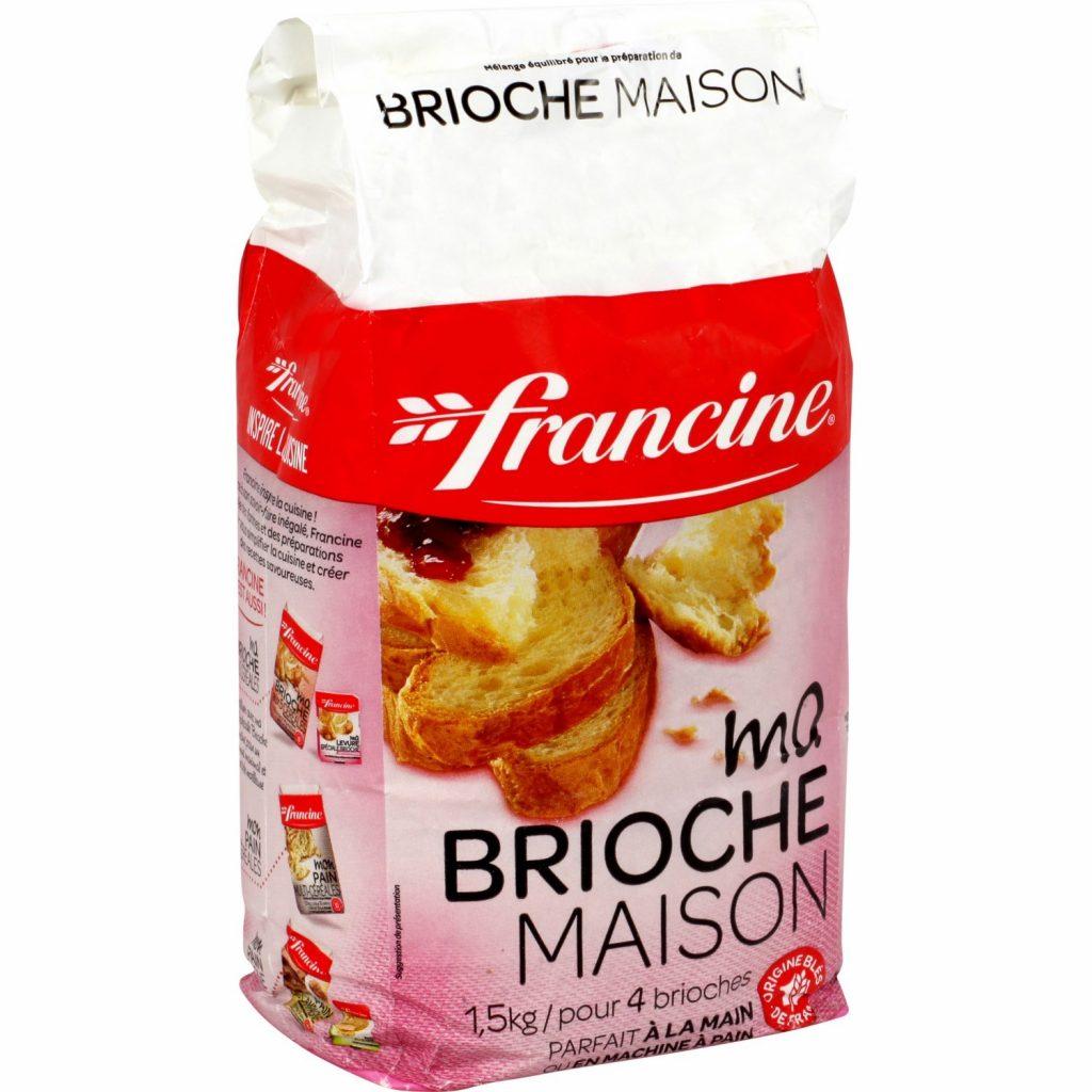 Homemade Brioche Mix Francine