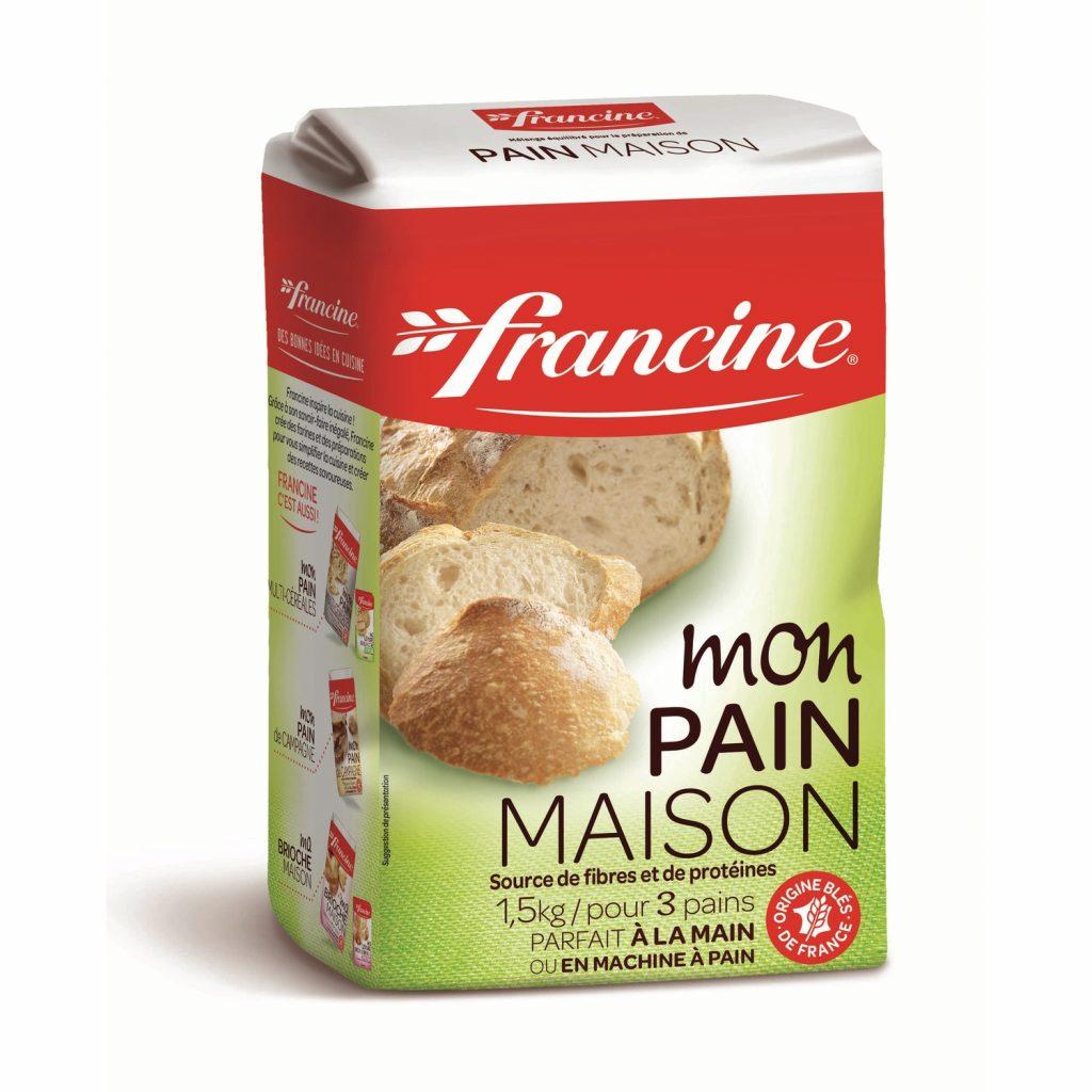 Homemade Bread Mix Francine