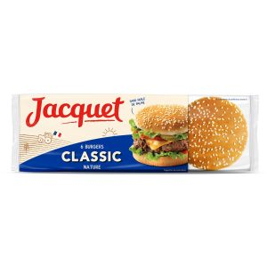Classic Hamburger Bread Jacquet