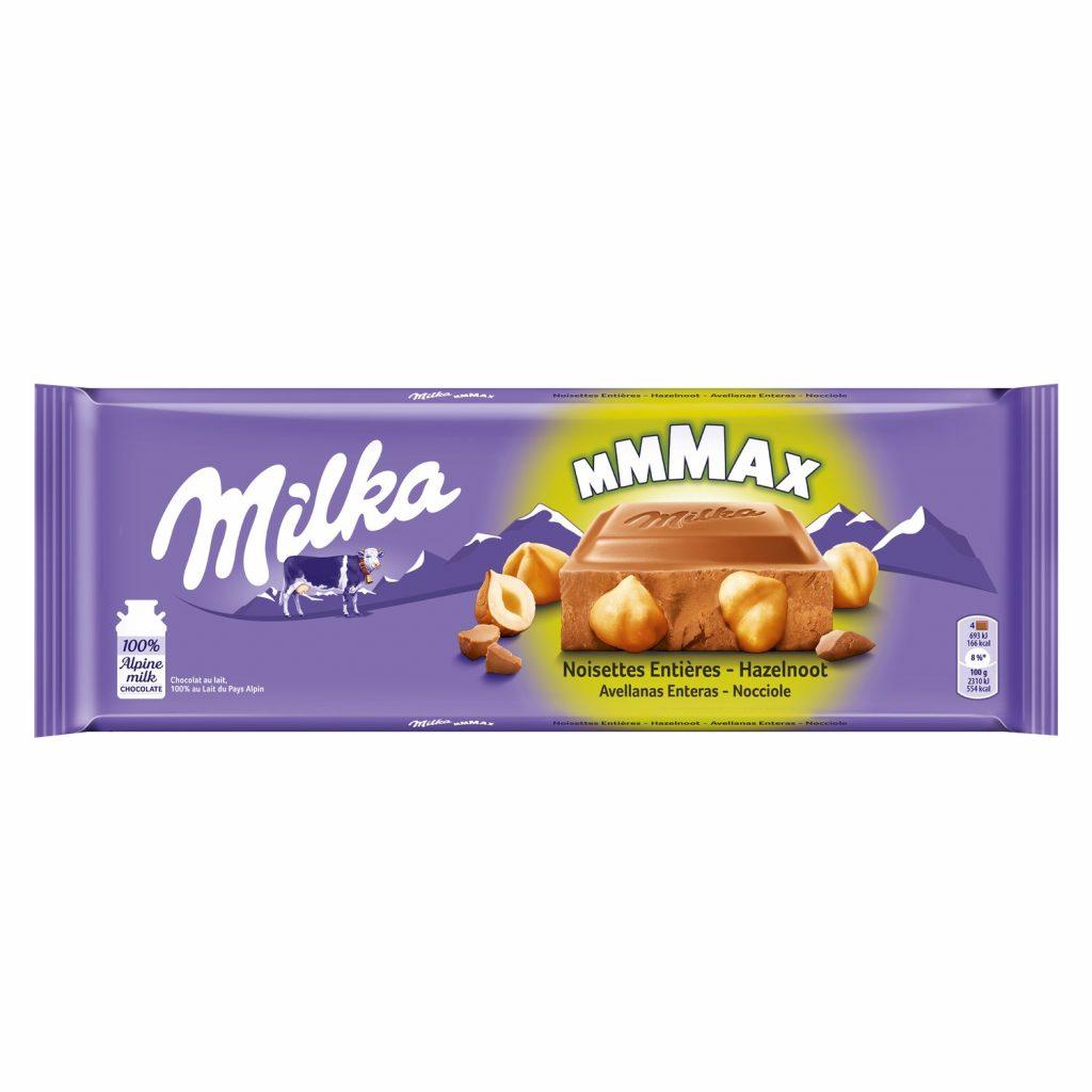 Chocolate Hazelnuts & Toffee Milka