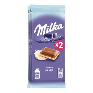 Sweet Milk Chocolate Milka X2