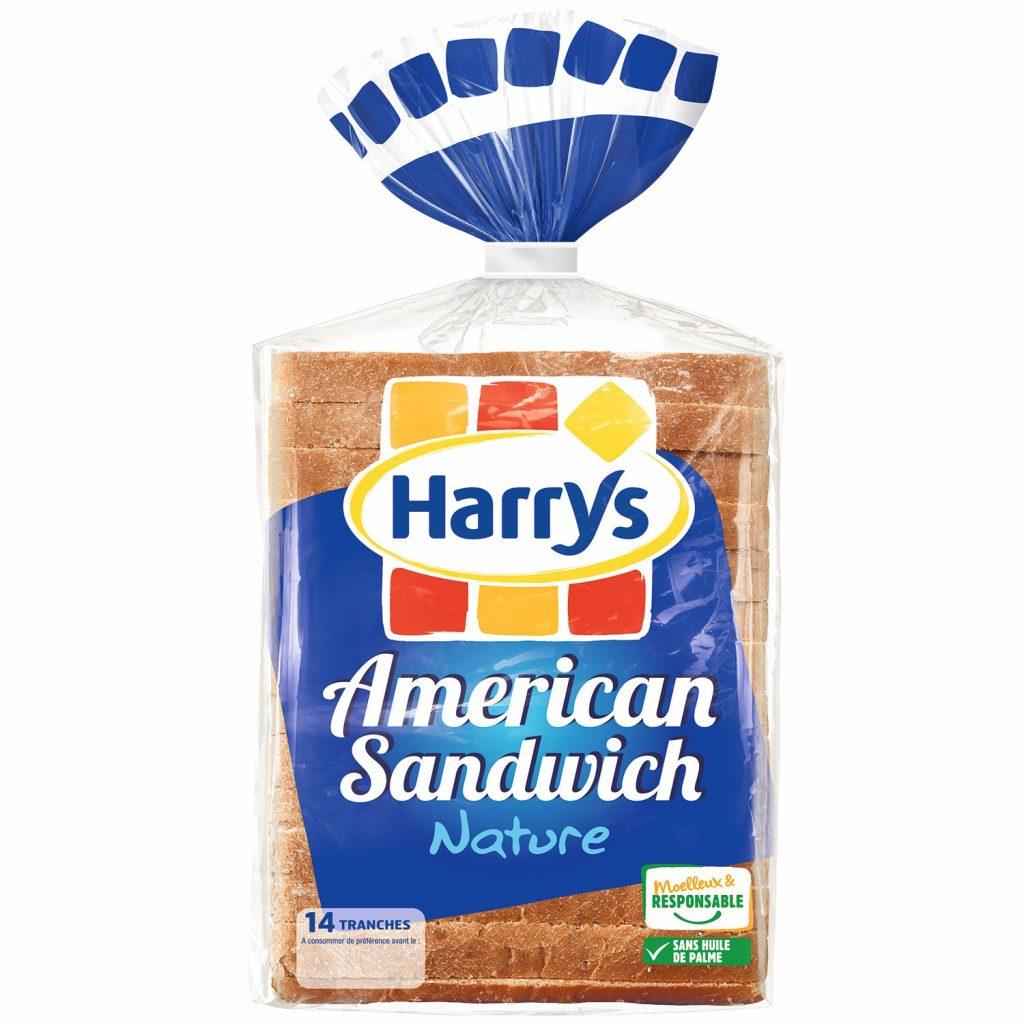 """Soft Bread """"American Sandwich"""" Harry's"""