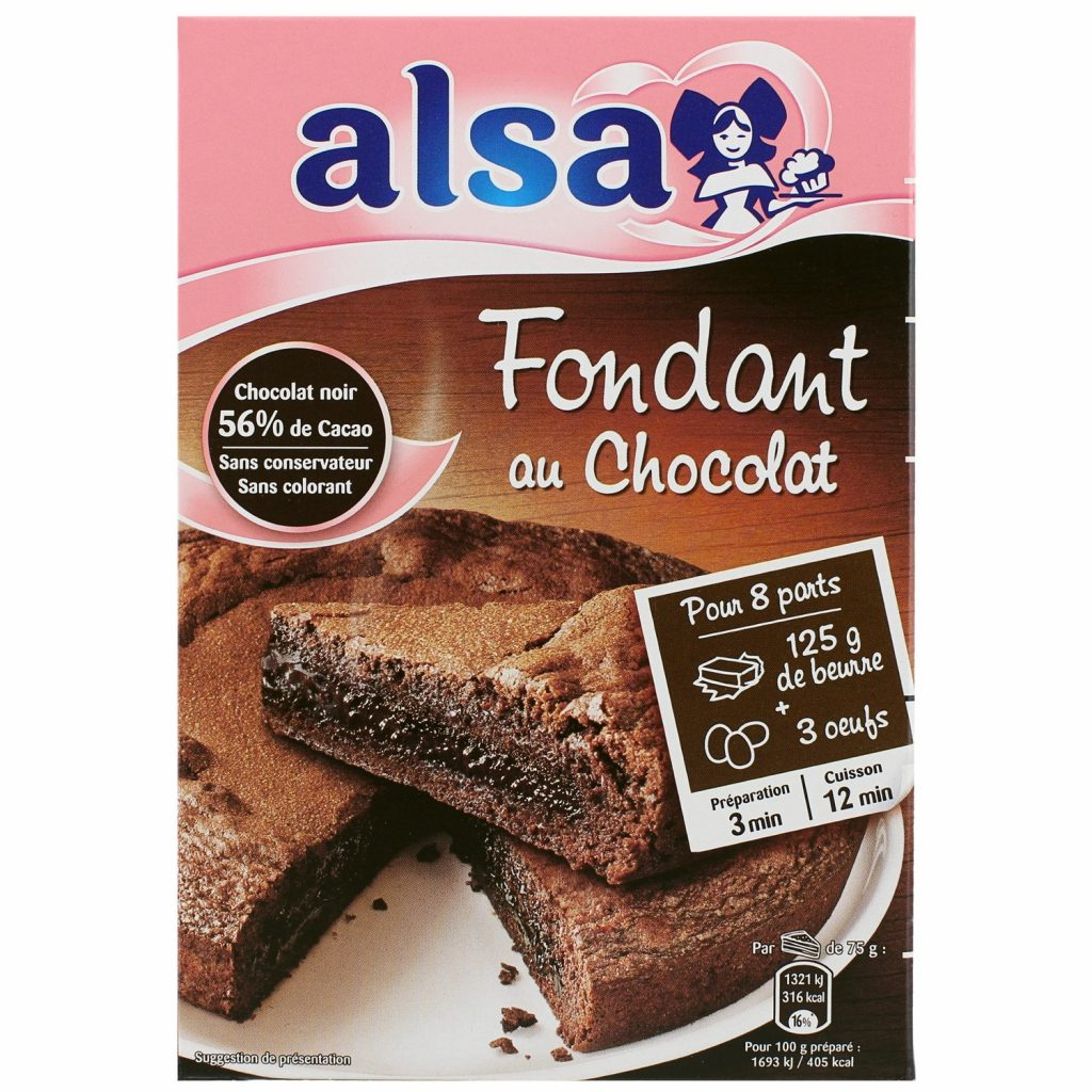 Alsa Fondant Chocolate Cake Mix