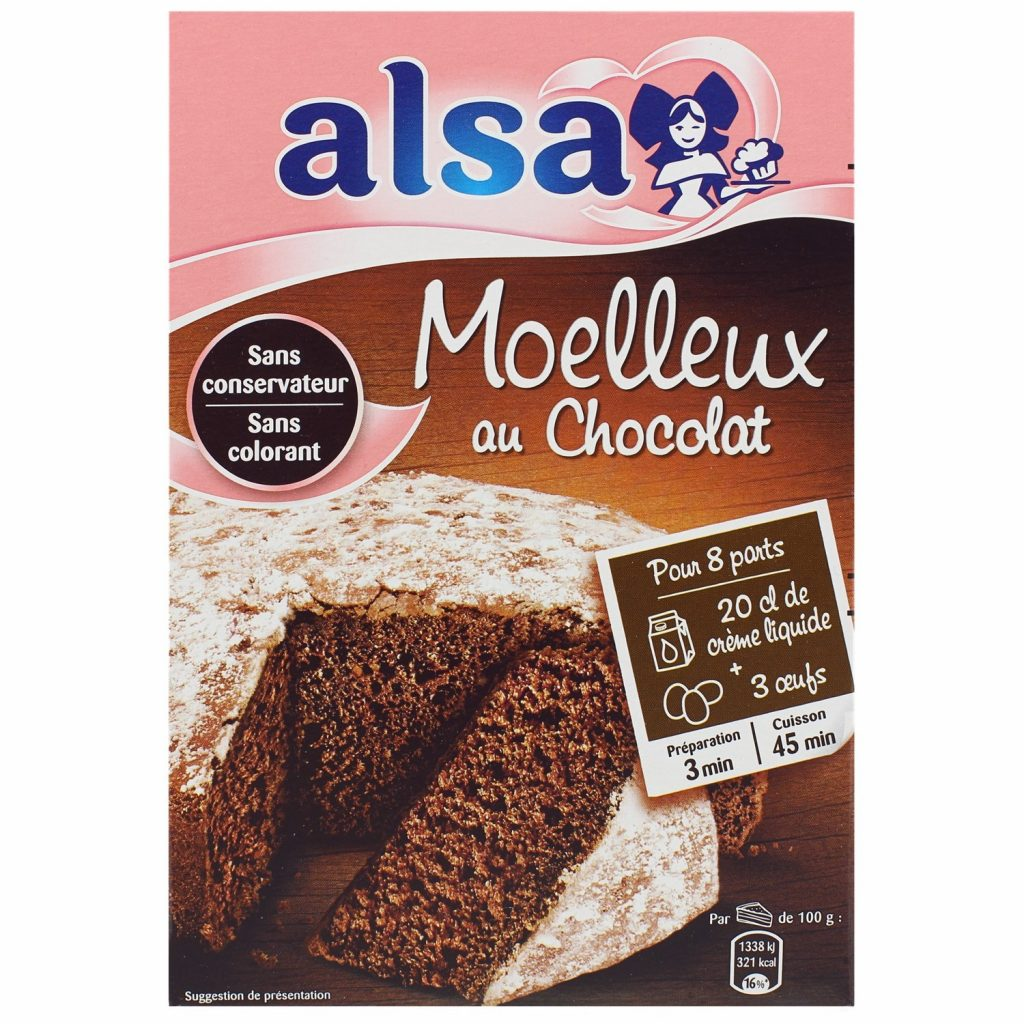 Alsa Chocolate Sponge Cake Mix