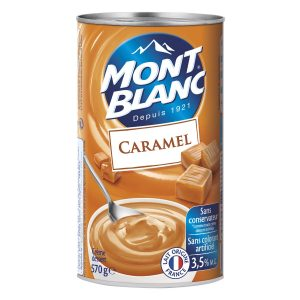 Caramel Dessert Cream Mont-Blanc