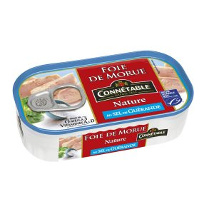 Natural Cod Liver Connetable