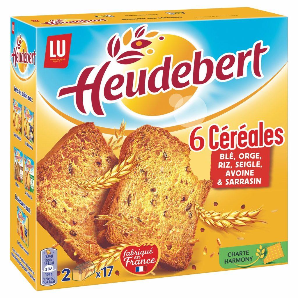 Heudebert 6 Cereals Rusks