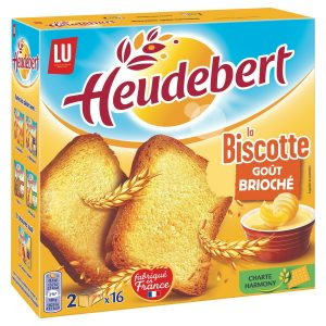 Heudebert Brioche Rusks