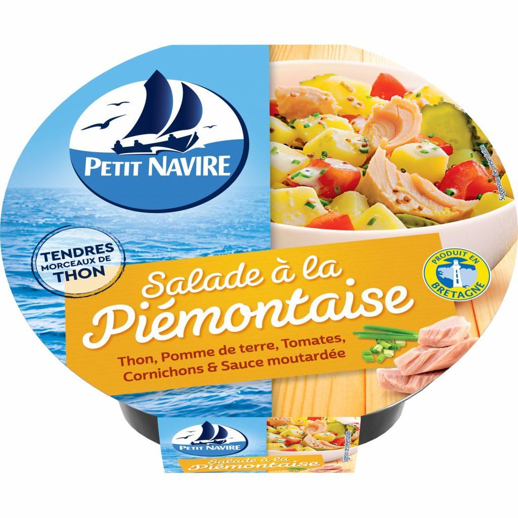 """""""Piemontaise"""" Tuna Salad Petit Navire"""