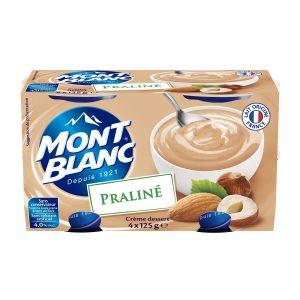 Praline Dessert Cream Mont-Blanc