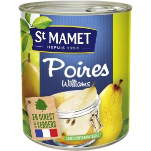 Pears In Syrup St-Mamet
