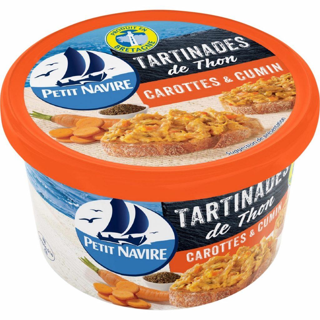 Tuna Spread With Carot Petit Navire