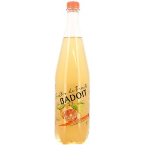 Sparkling Drink Grapefruit & Lemon Badoit