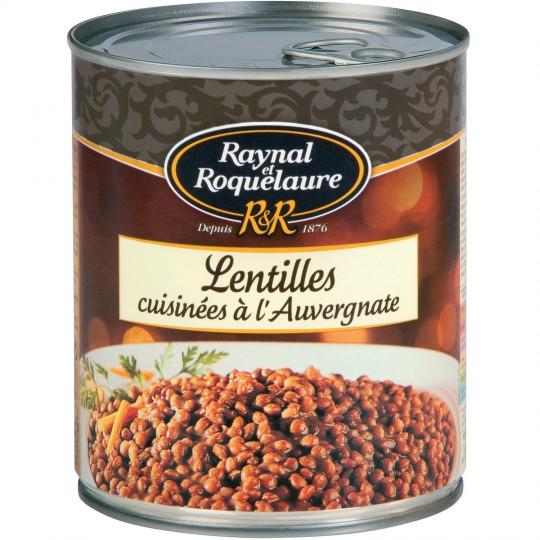 """Cooked Lentils """"à l'Auvergnate"""" Raynal & Roquelaure"""