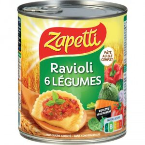 6 Vegetables Ravioli Zapetti