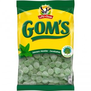 "Mint & Eucalyptus Candies ""Gom's"" La Pie Qui Chante"