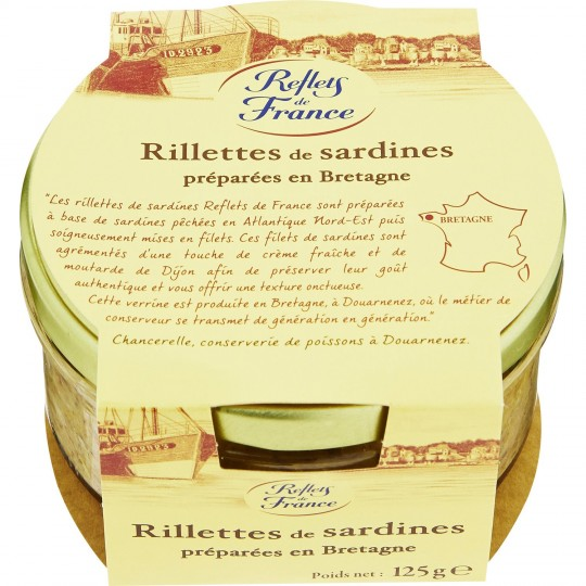 Sardines Rillettes Reflets De France
