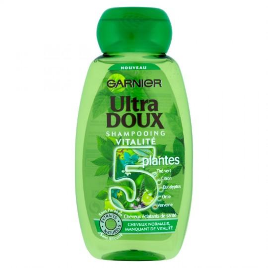 "5 Plants Vitality Shampoo ""Ultra Doux"""