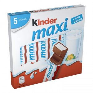 Chocolate Bars Kinder Maxi