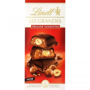Lindt Praline Hazelnut Dark Chocolate