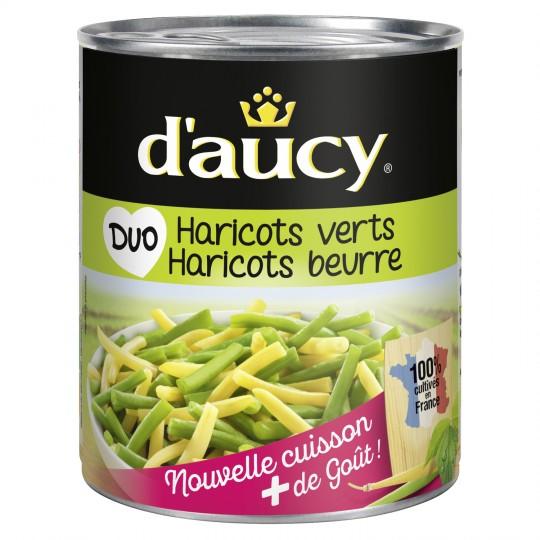 Duo Green & Butter Beans D'Aucy