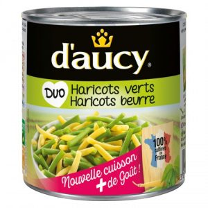 Duo Green & Butter Beans D'Aucy