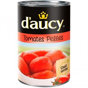 Peeled Tomatoes D'Aucy